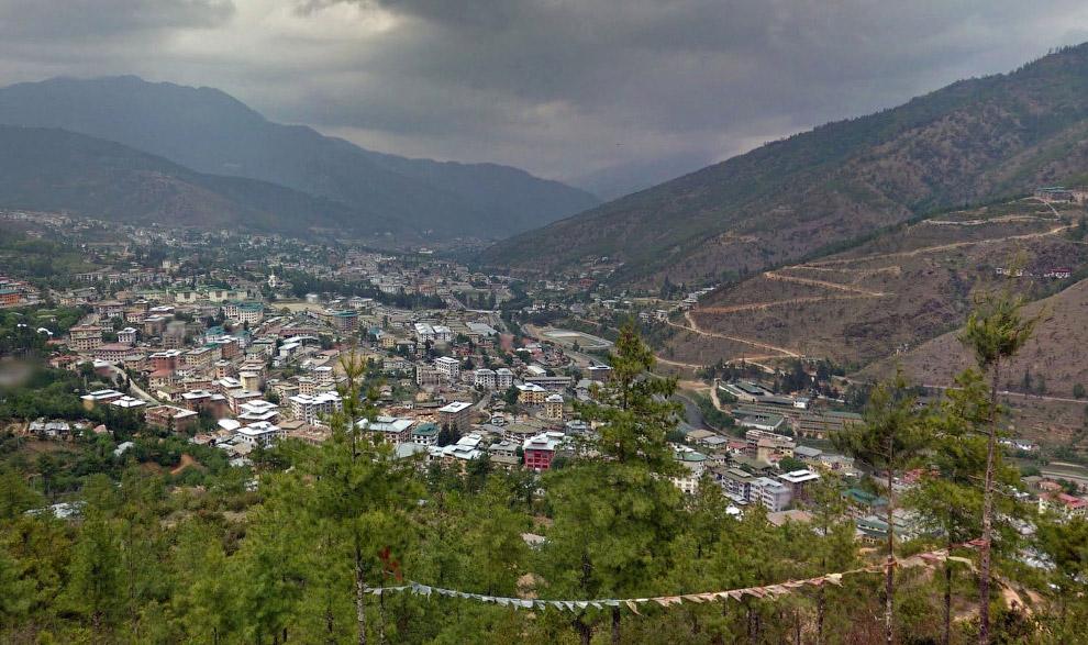 Столица Бутана — город Тхимпху