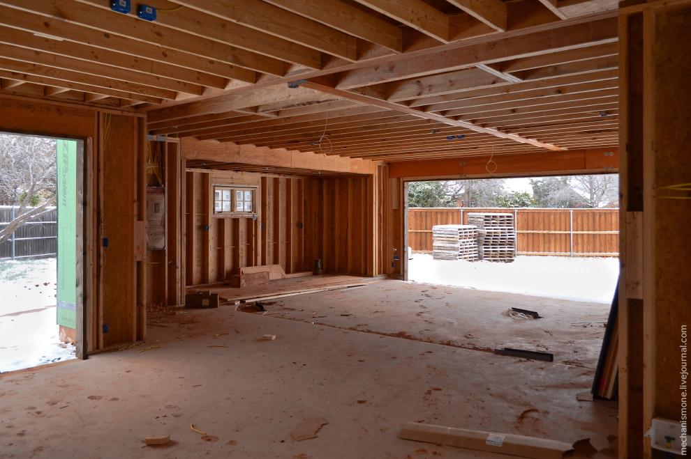Как строят дома в США