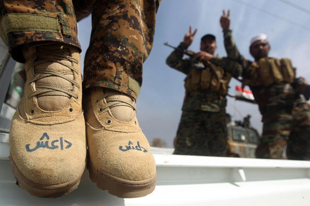 Члены террористической группировки Даеш