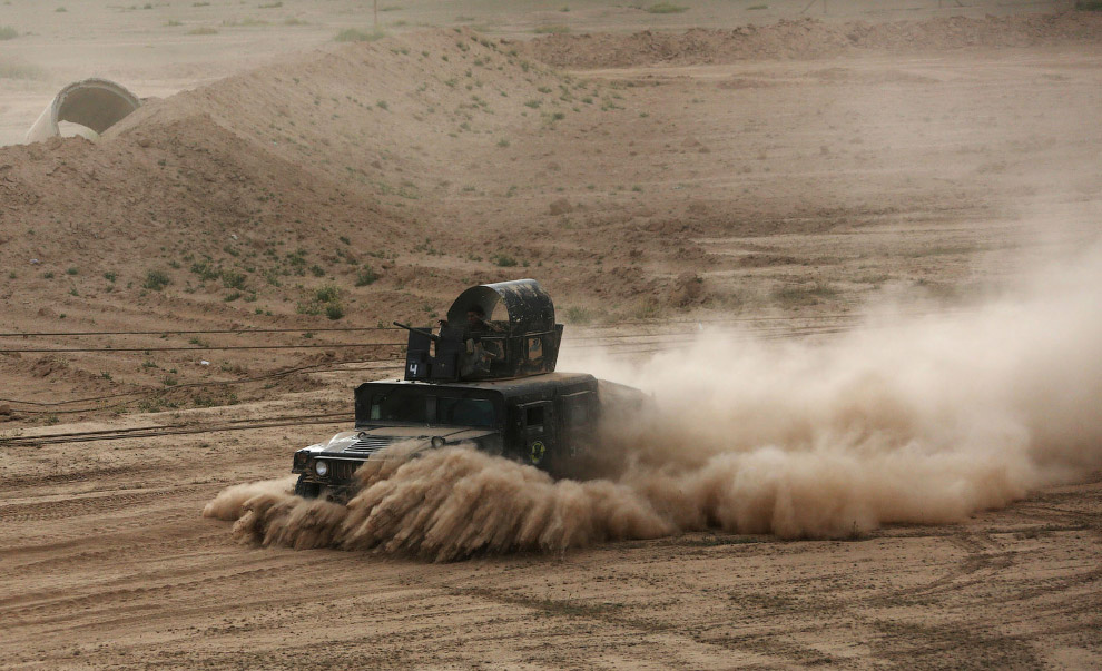 Бронемобиль Иракской армии