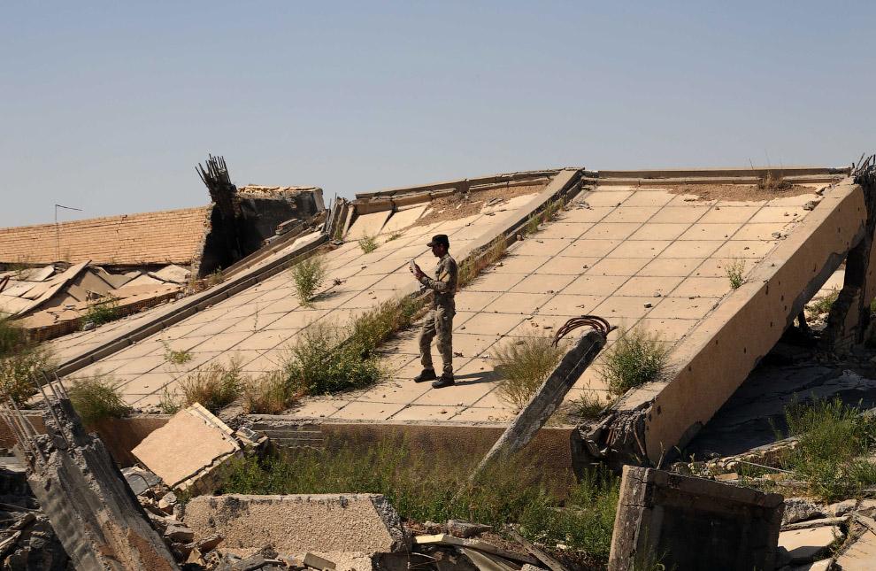могила бывшего президента Ирака Саддама Хусейна