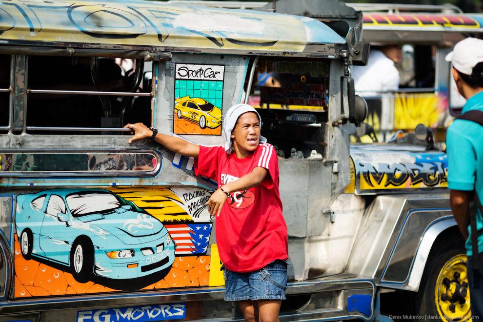 Джипни на Филиппинах