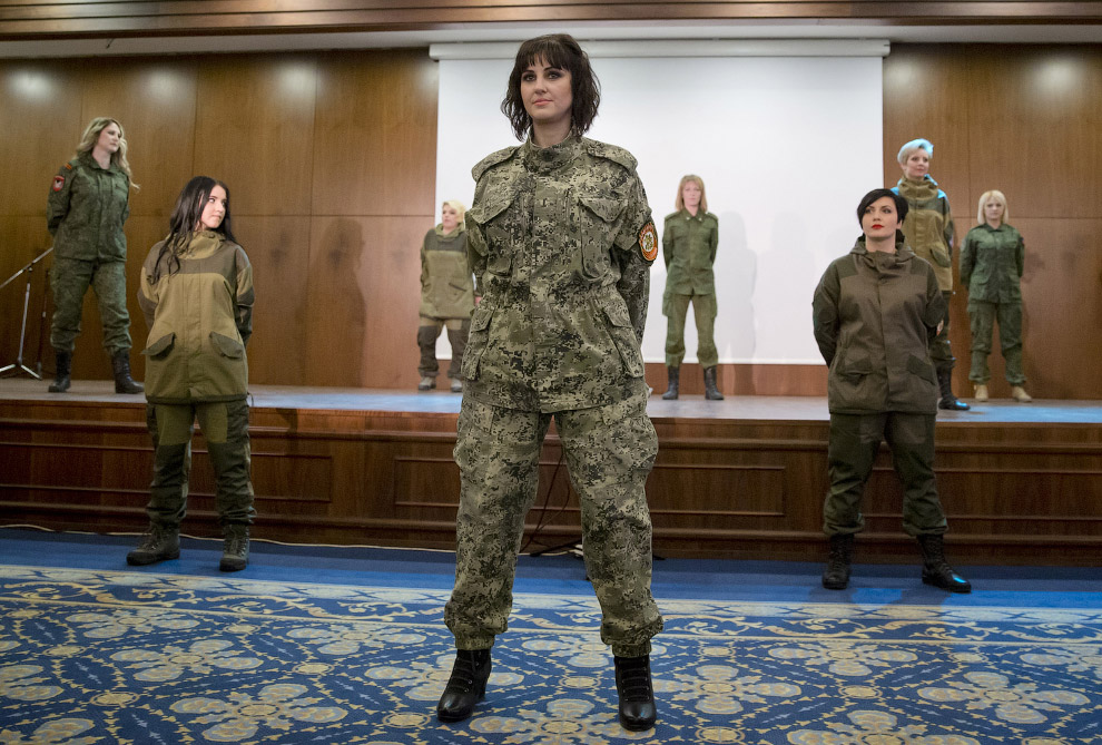Один из этапов конкурса красоты в честь 8 марта, Донецк