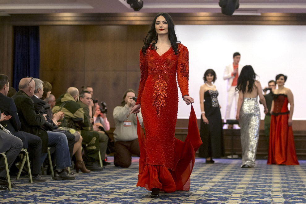 Конкурс красоты в Донецке