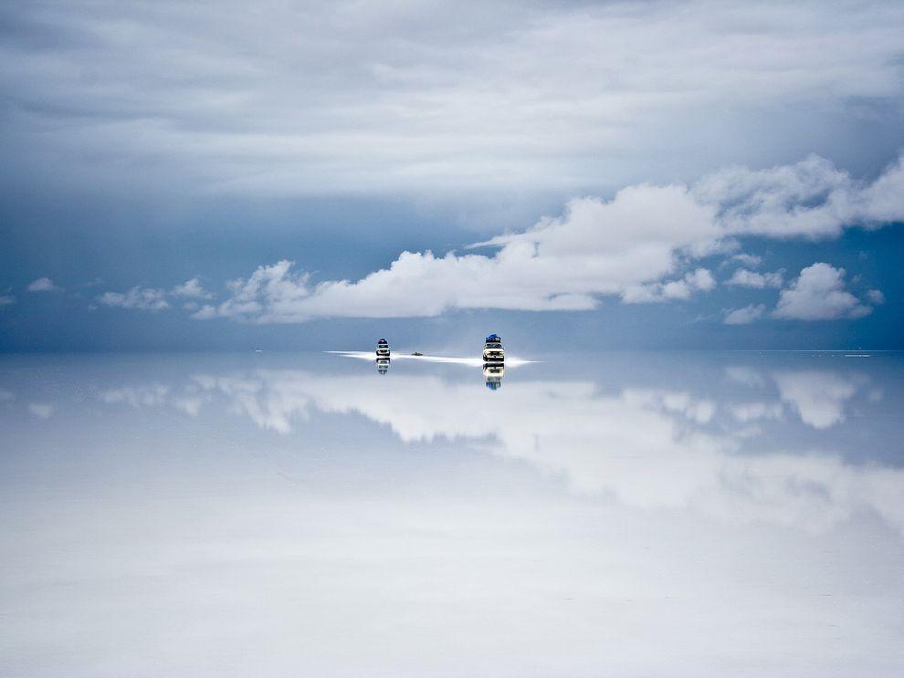 Солончак в Боливии