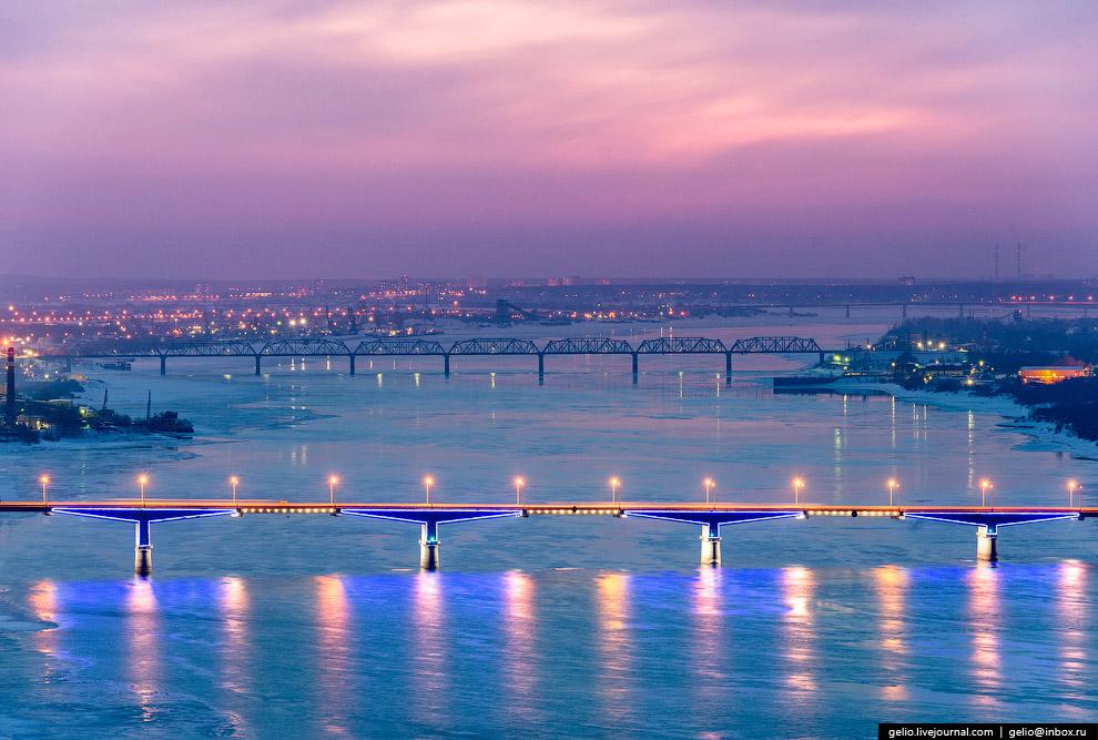Коммунальный автомобильный мост через Каму