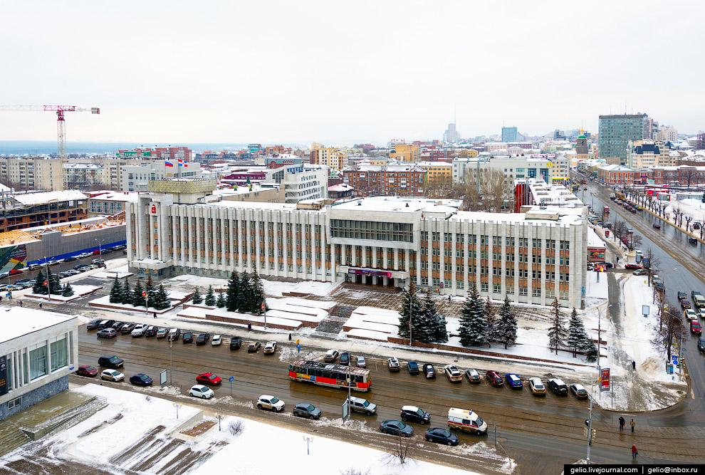 Администрация губернатора и правительство Пермского края и Культурно-деловой центр