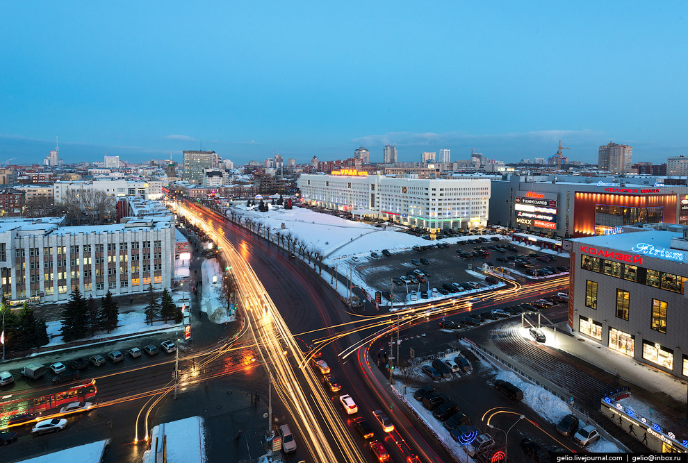 Перекресток Ленина/Куйбышева
