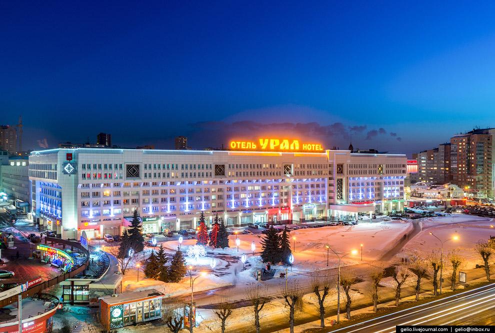 Крупнейший на Западном Урале гостиничный комплекс