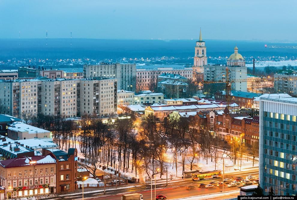 Сквер Уральских добровольцев