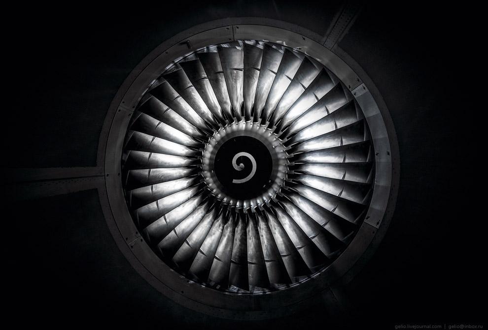 36 лопаток вентилятора двигателя CFM-56.