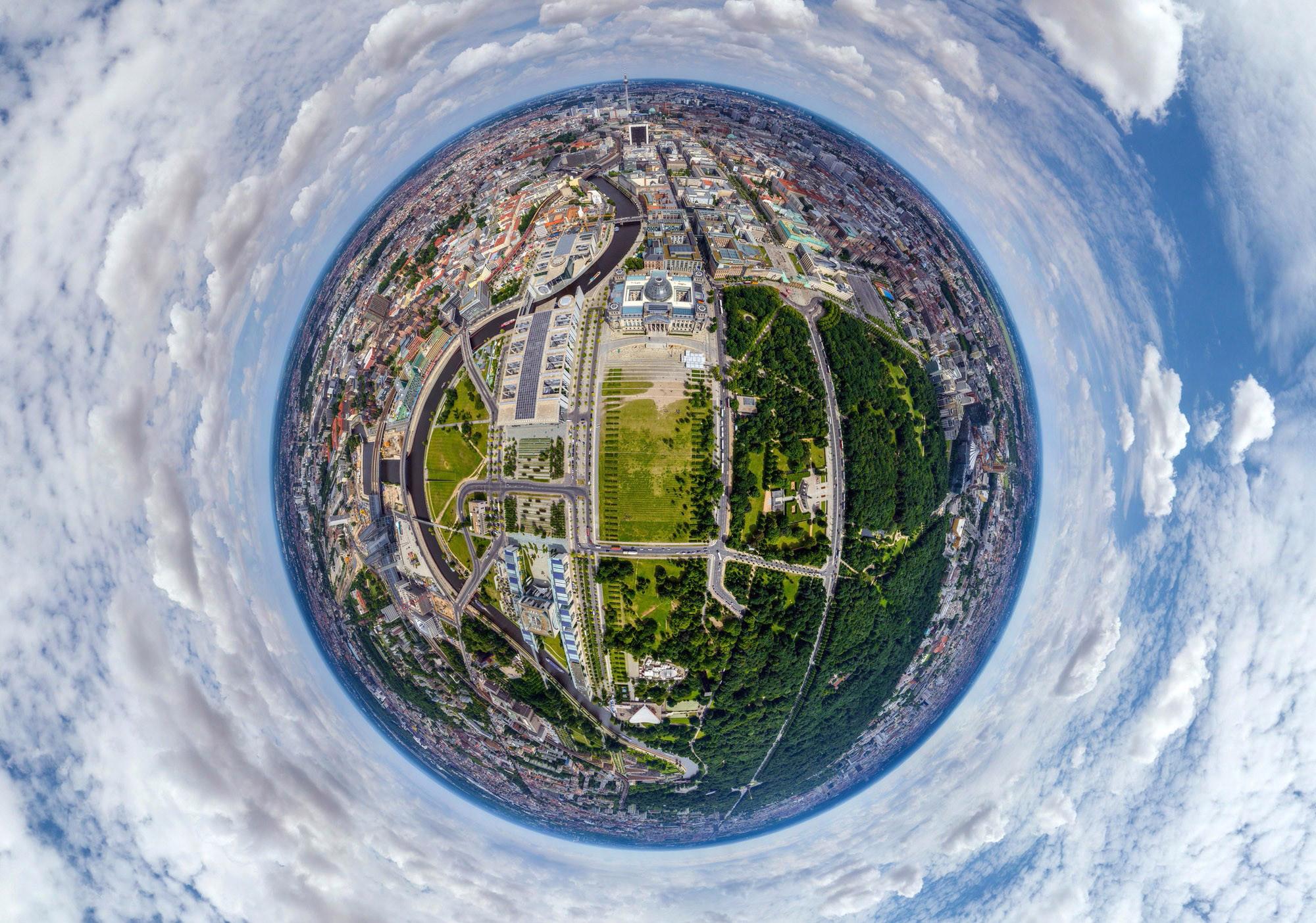 Как делать сферическое фото