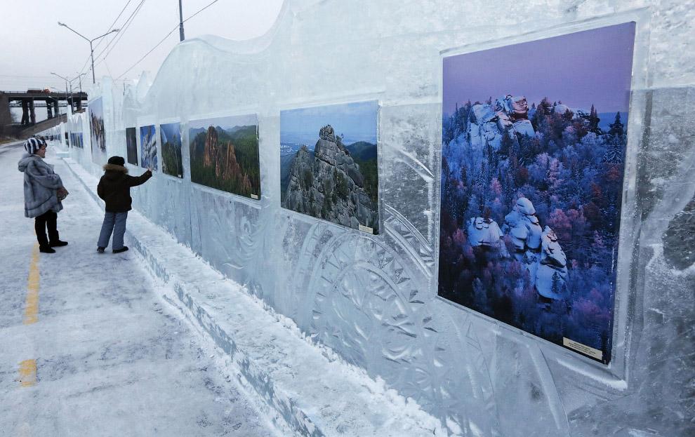 Выставка фотографов «Волшебный лед Сибири»