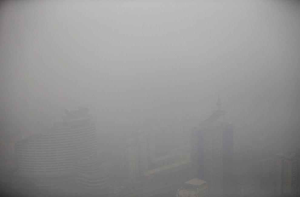 Великий смог в Китае