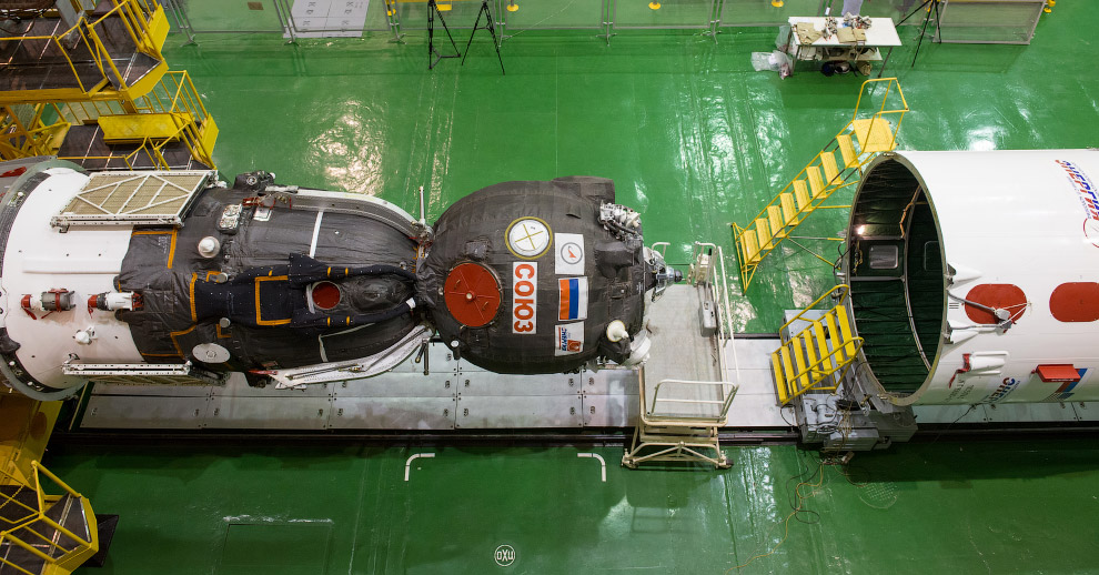 Ракета-носитель «Союз-ФГ» и космический корабль «Союз ТМА-16М»