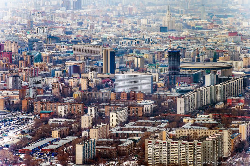 «Олимпийский» и окрестности — Мещанский район