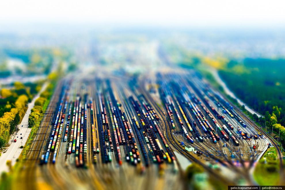 Сортировочная железнодорожная станция