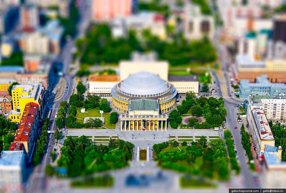 Новосибирский оперный театр — самое большое театральное здание России