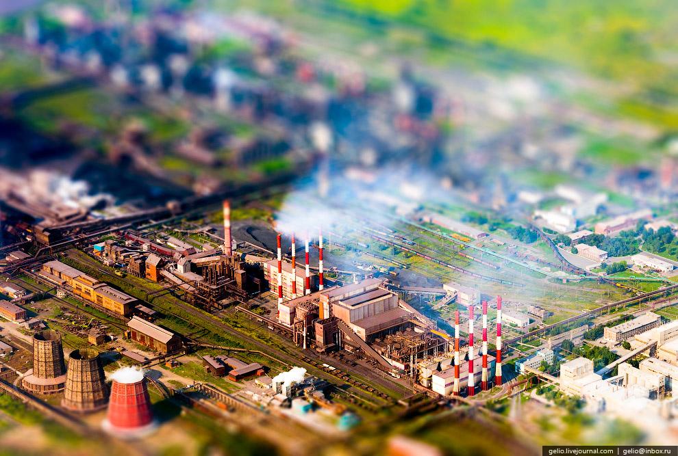 Суровые челябинские заводы