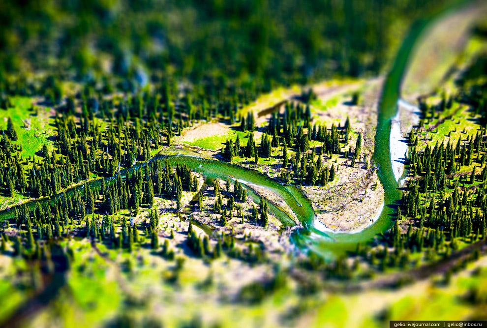 Река в Хакасии
