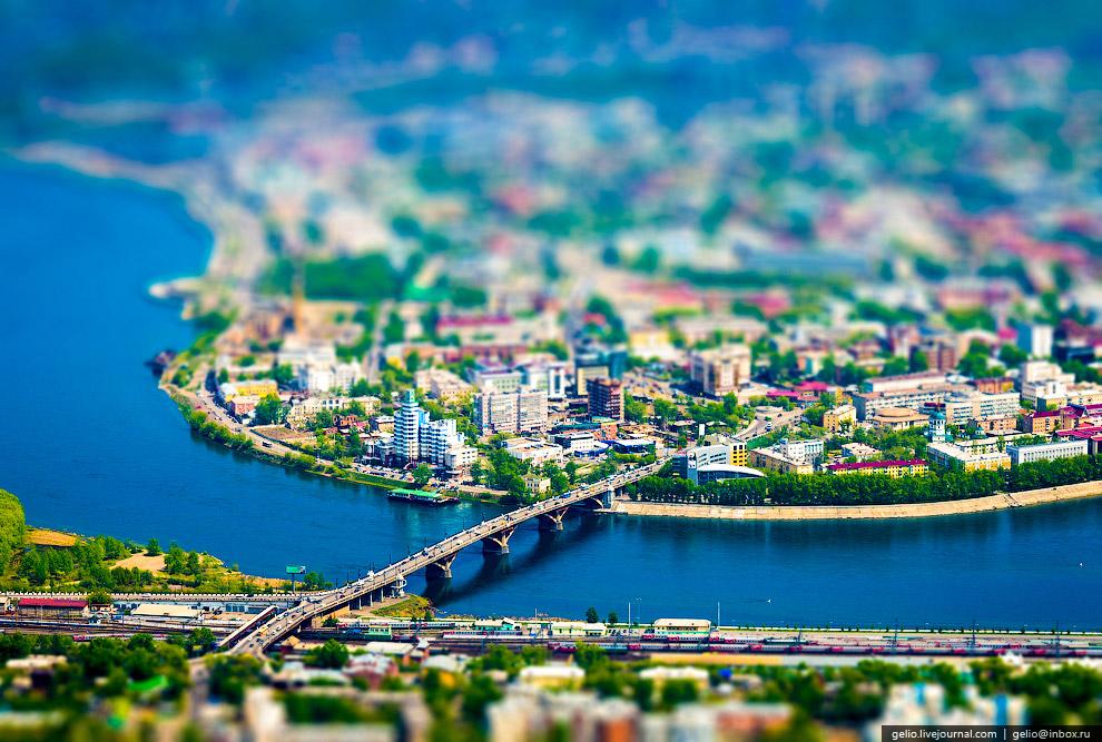Мост через Ангару в Иркутске