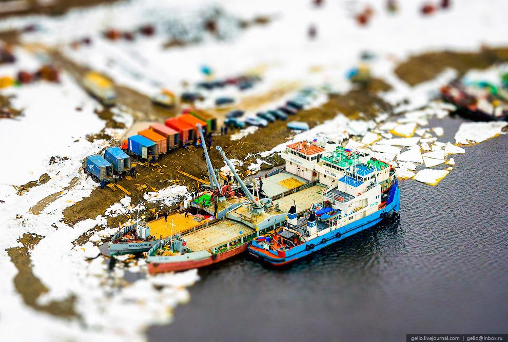 Порт в Дудинке