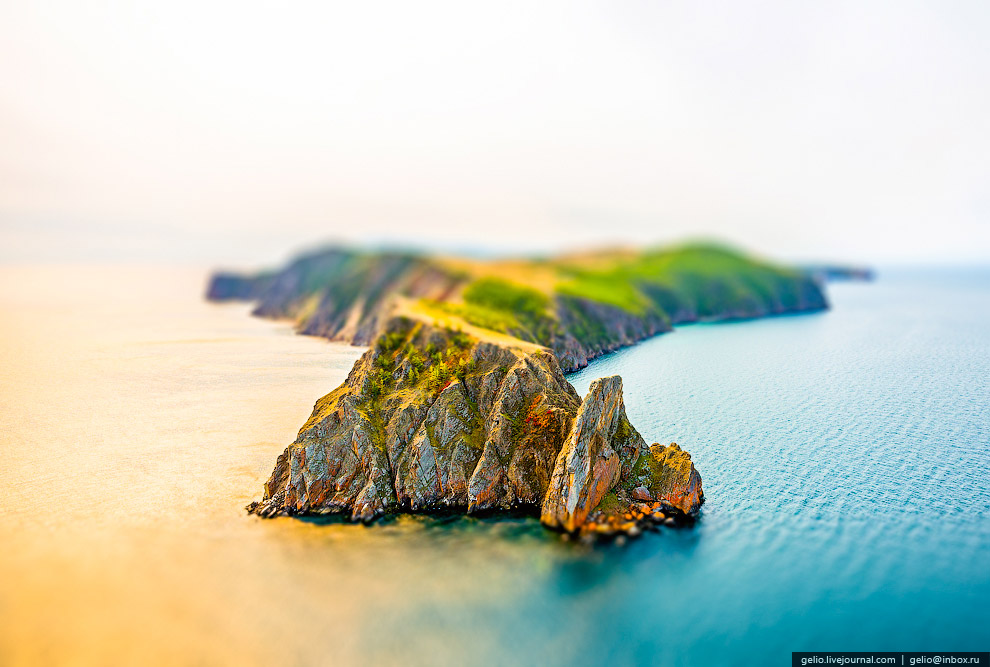Мыс Хобой на острове Ольхон. Байкал