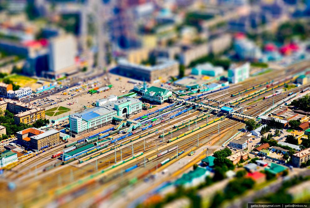 Новосибирский железнодорожный вокзал