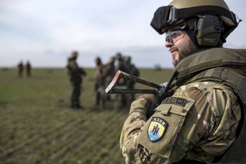 Учения полка «Азов»