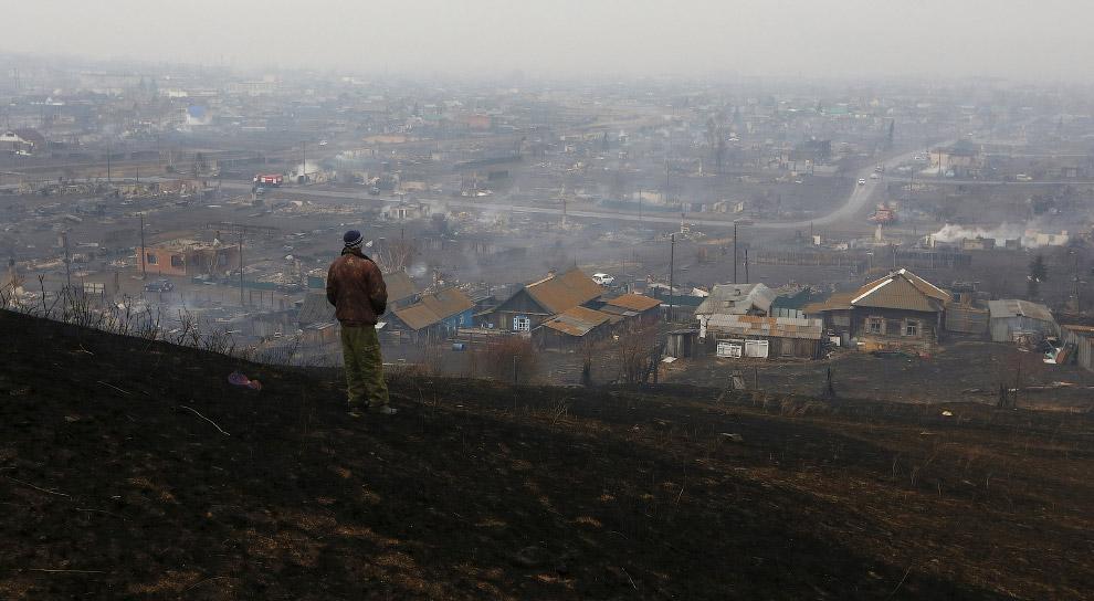 Лесные пожары в России 2015