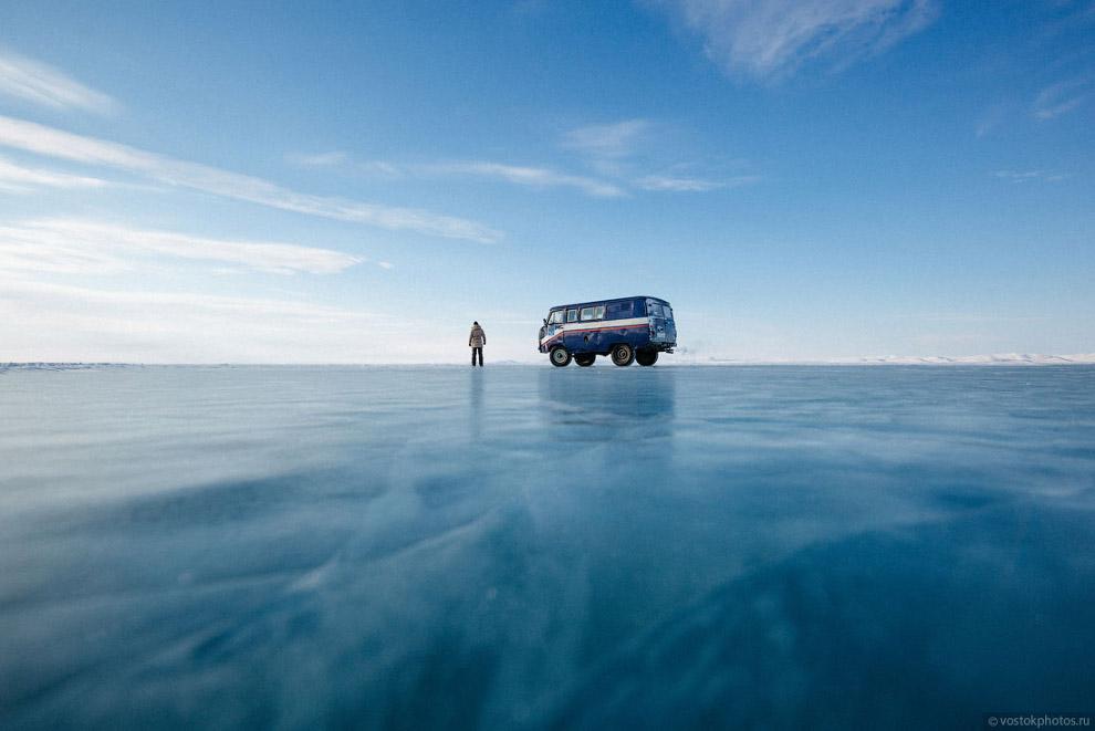 Доставка почты на крайний север по льду