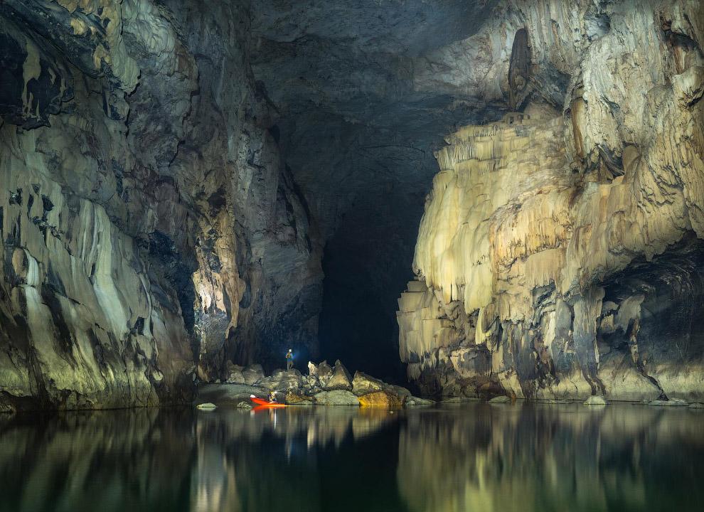 Пещерная река