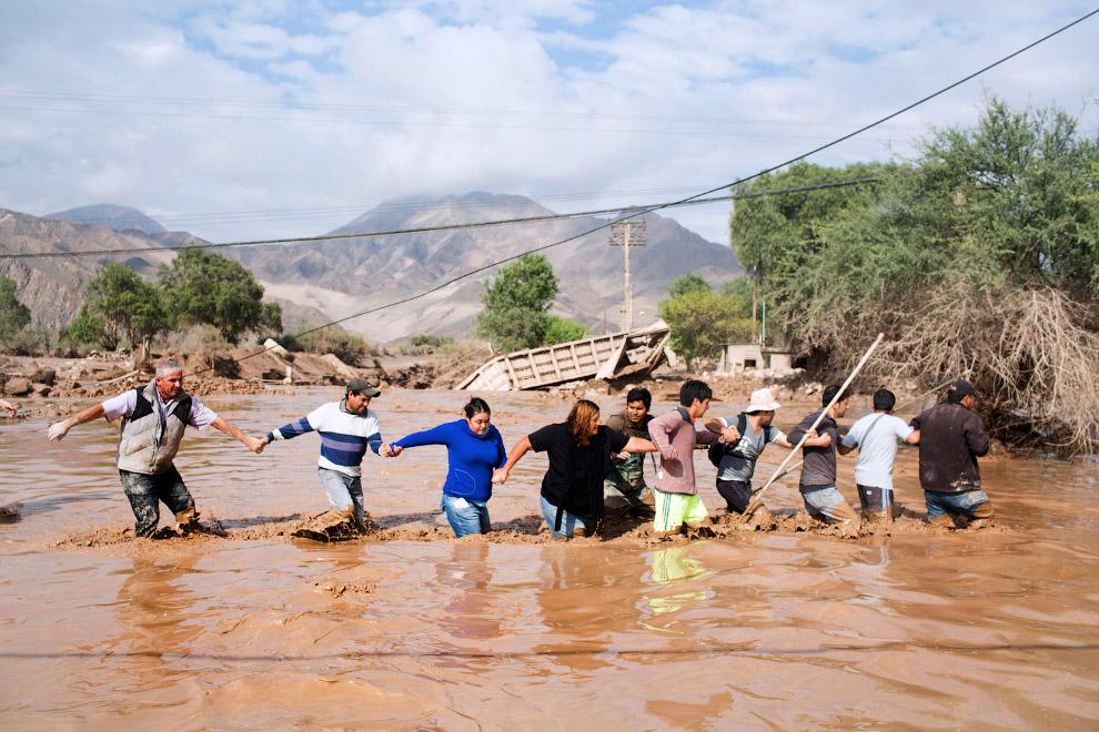 Историческое наводнение в Чили