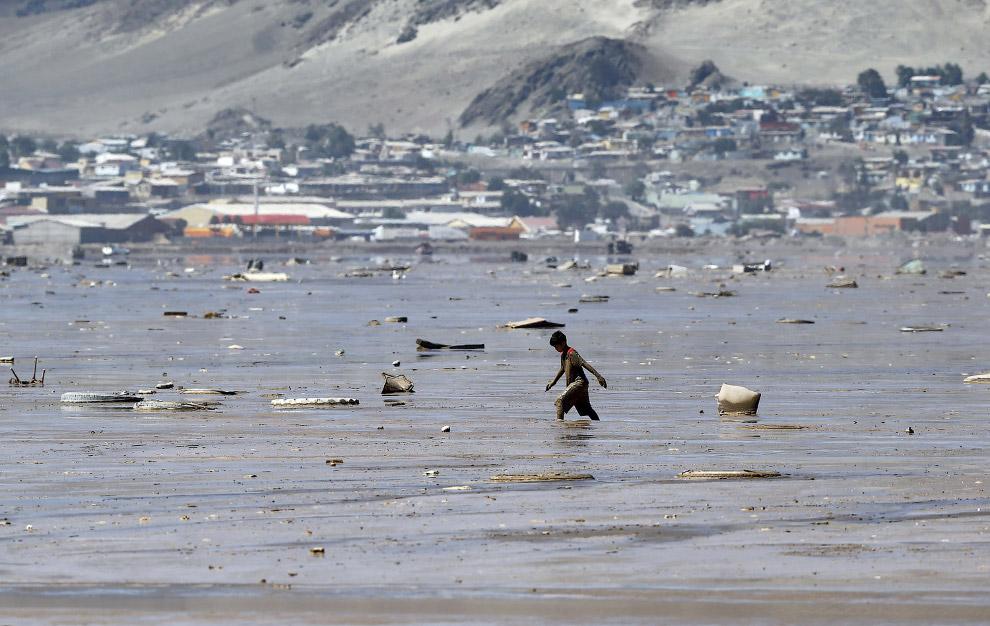 Вместо дорог – непролазная грязь, город Чаньяраль