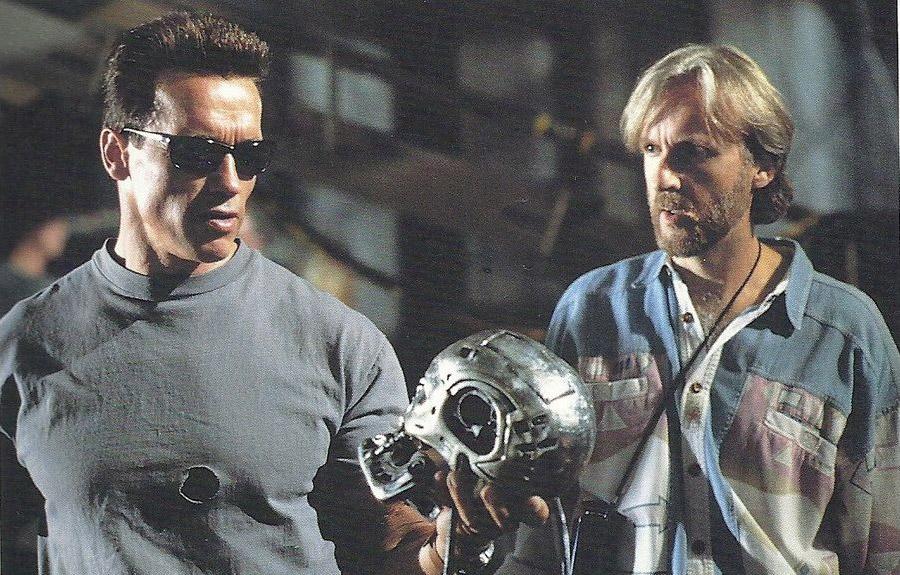 «Быть или не быть...» Шварценеггер и Камерон на съемках «Терминатора»