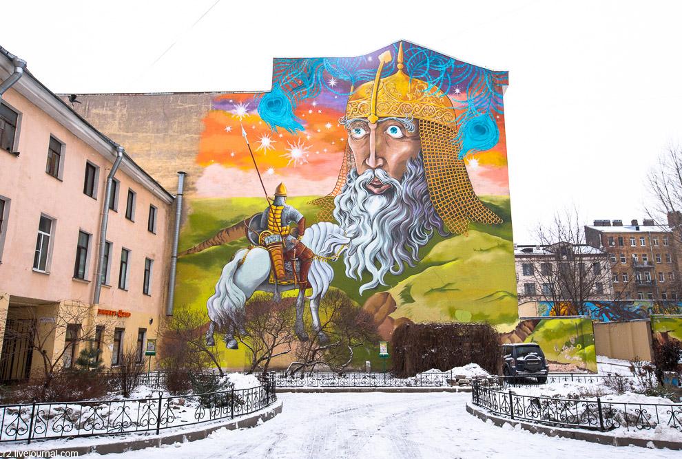 Граффити Санкт-Петербурга