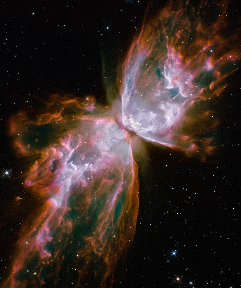 A nebulosa bipolar é uma nebulosa planetária na constelação de Escorpião Beetle