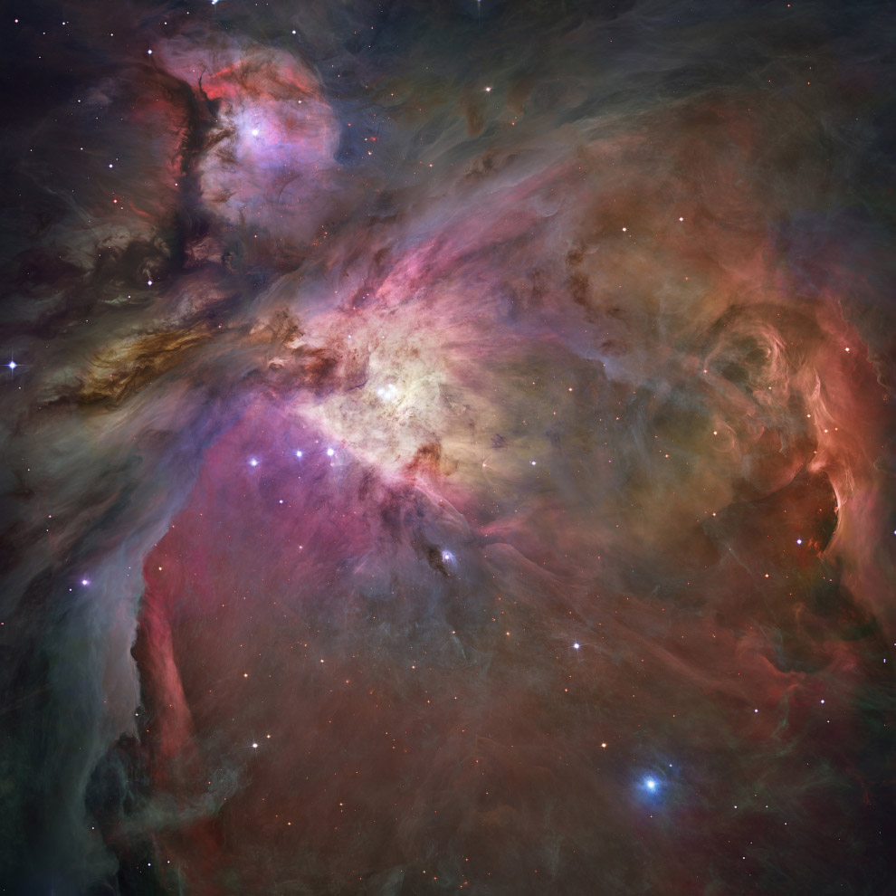 A nebulosa de Orion