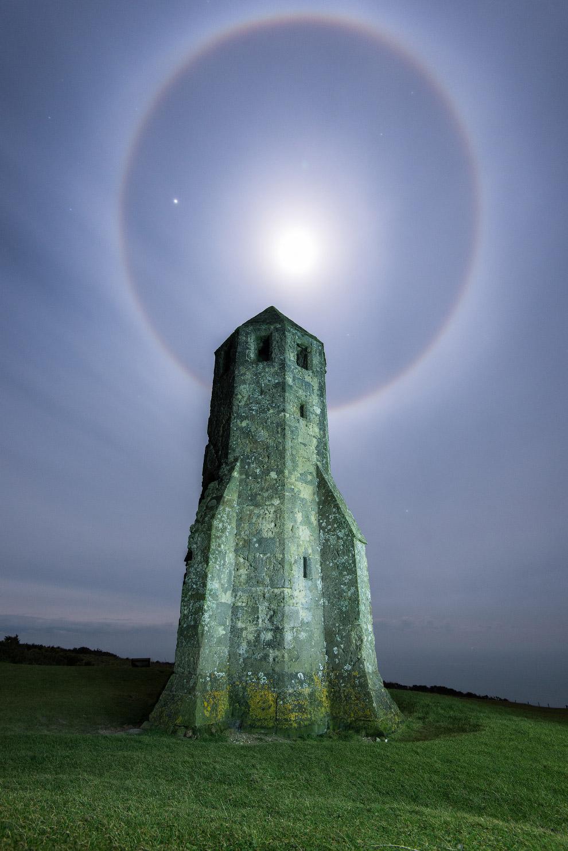Лунный свет на острове Уайт, Англия