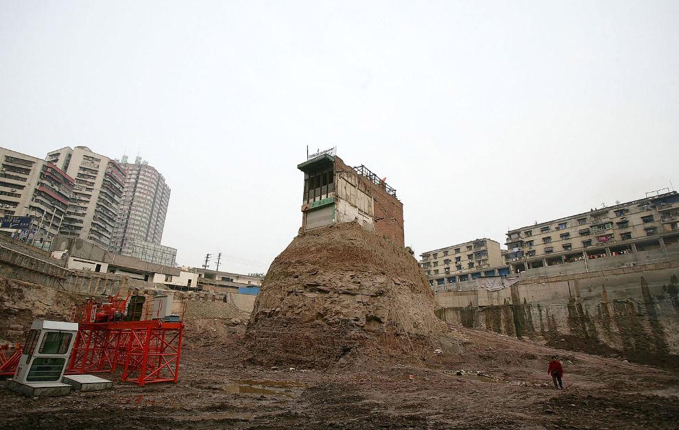 «Остров» вблизи, Чунцин, Китай