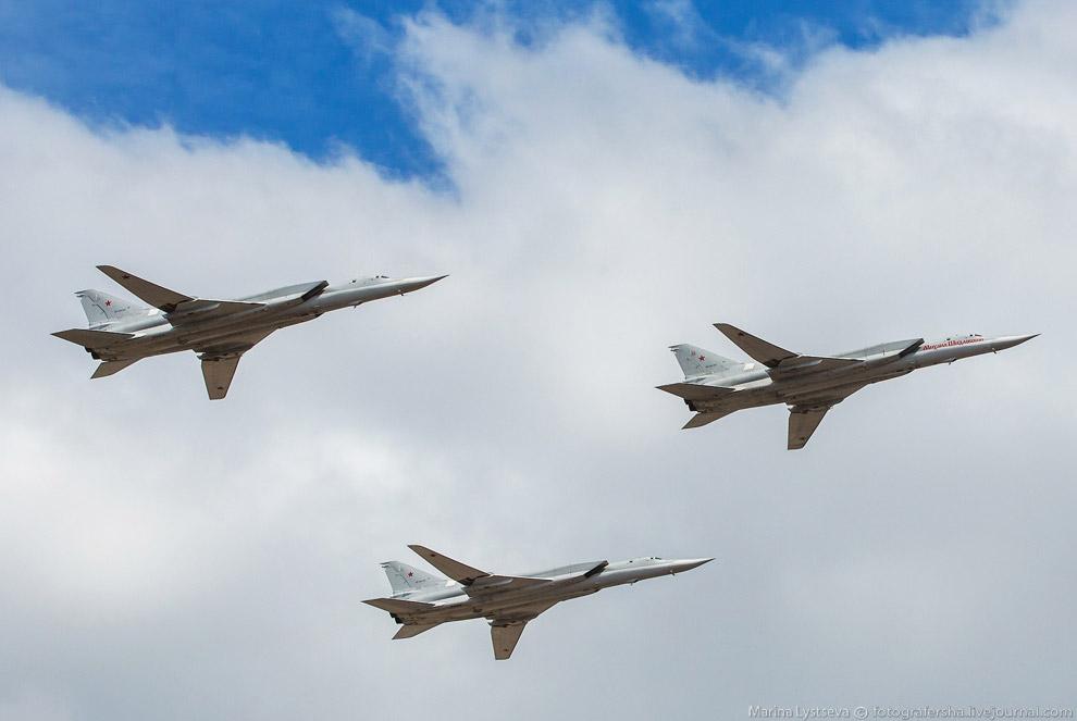 Тройка Ту-22М3