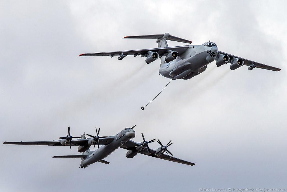 Ил-78 и Ту-95
