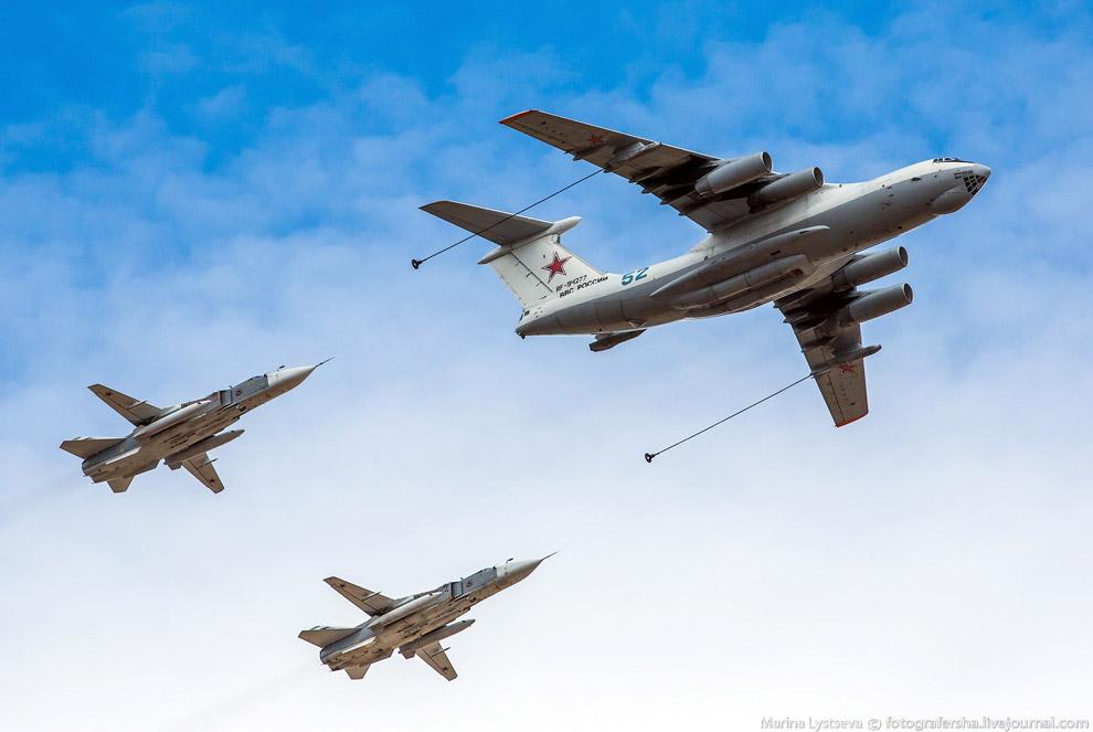 Ил-78 и Су-24