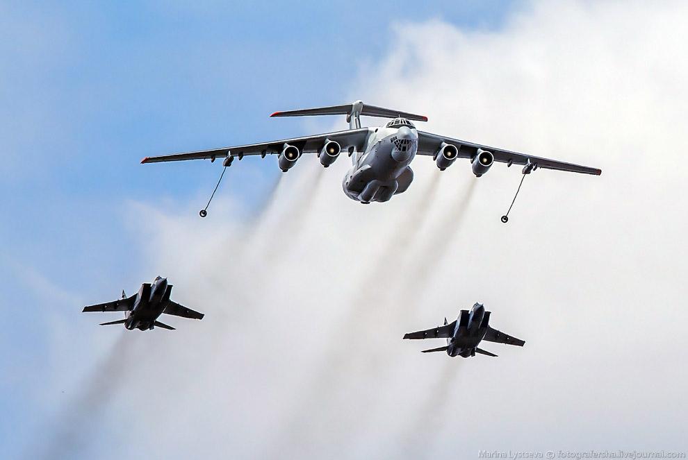 Ил-78 и МиГи-31