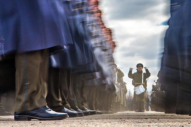 Наземная репетиция Парада Победы