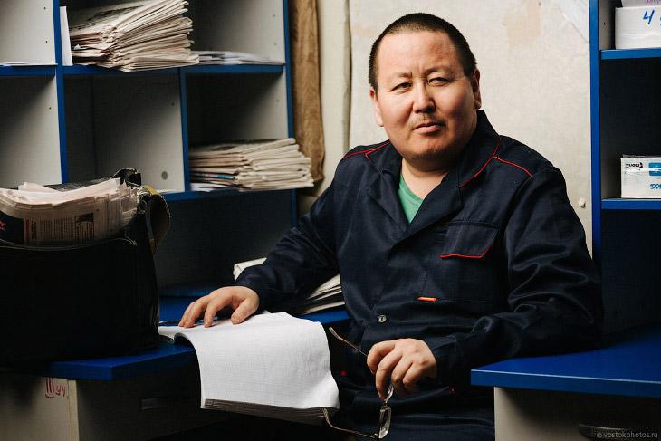 Как работает почтальон в Якутии