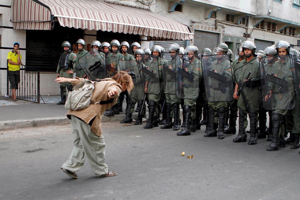 Акция в Касабланке