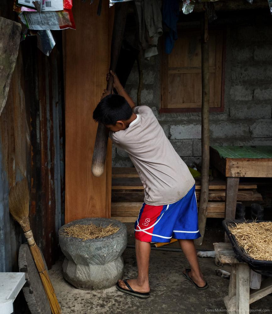 Рисовые террасы Банауэ