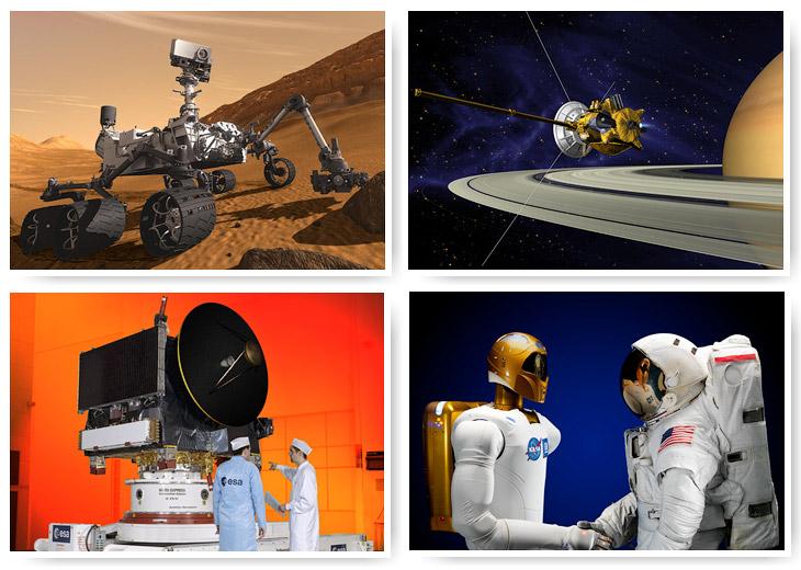 Всемирный день космонавтики: роботы, изучающие космос