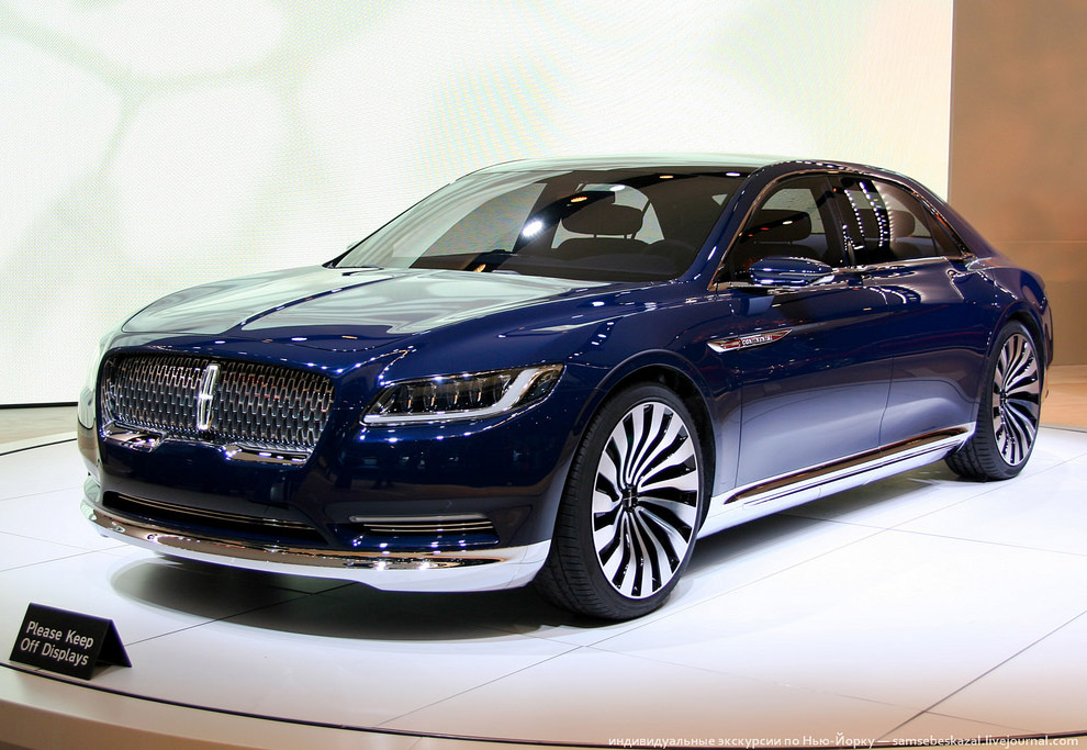 Новый Lincoln Continental